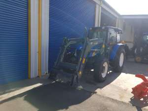 Used New Holland T5050 With Front End Loader | Machinery West